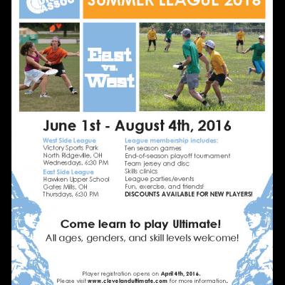 CDA Summer League Advertisement
