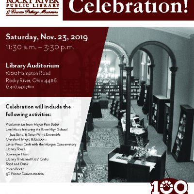 Proposal - Rocky River Public Library Event Flyer